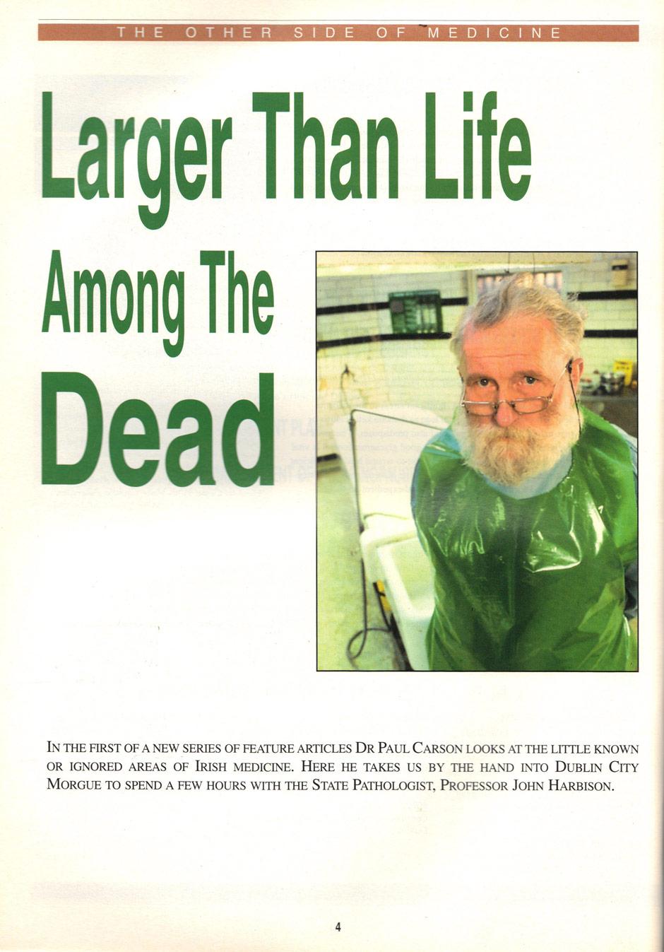 Dublin City Morgue